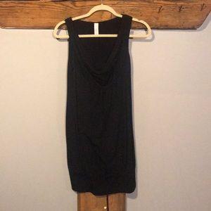 Dresses & Skirts - Black dress with tighter bottom ring